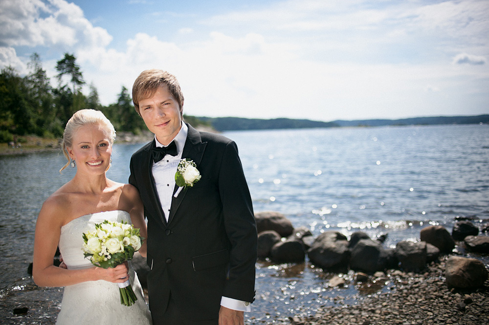 Johanna & Joel   Summer wedding in Ljungskile