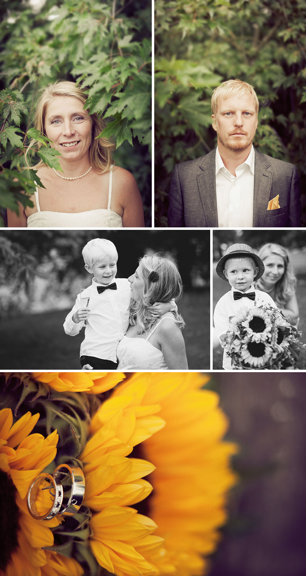 An simple autumn wedding in Trädgårdsföreningen
