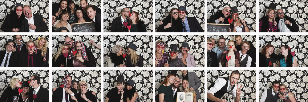 A photo booth   weddings the blog