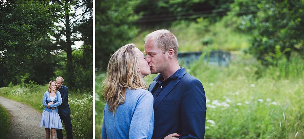 Engagement session with Malin & Peter