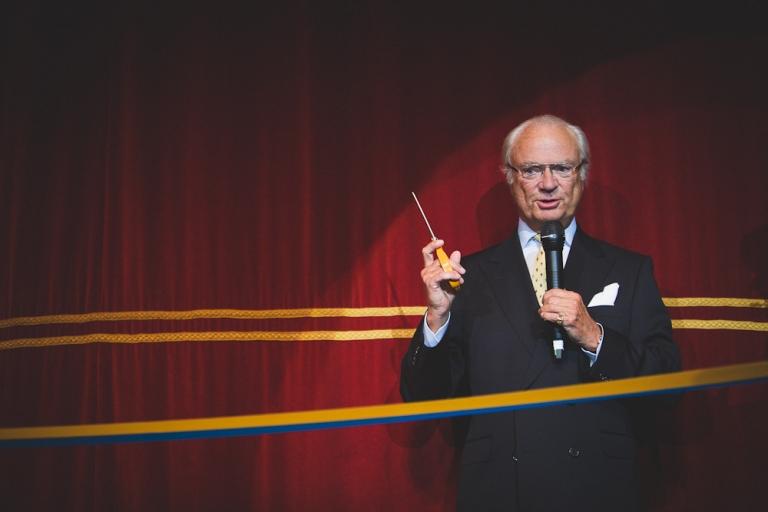 """Stiftelsen för östersjölaxen"""" invigdes av Hans Majestät Konungen foto av Oskar Allerby (2)"""
