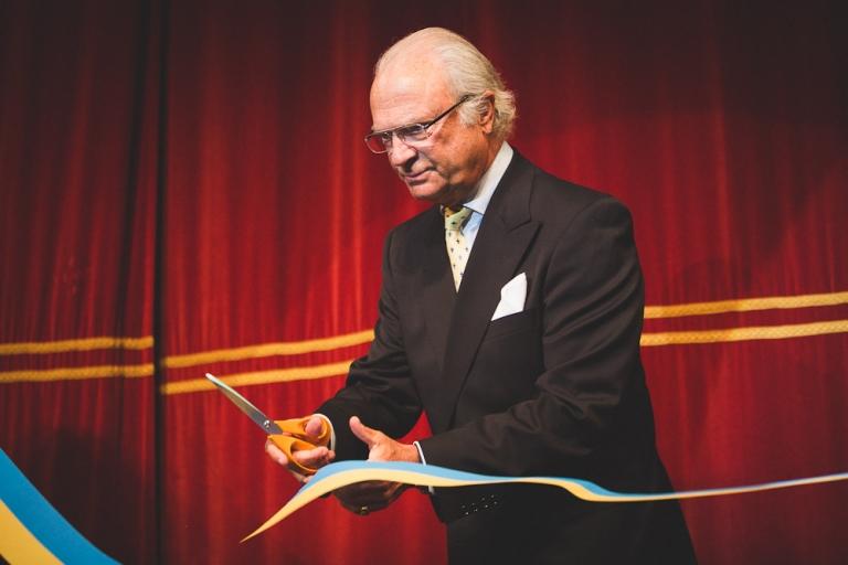 """Stiftelsen för östersjölaxen"""" invigdes av Hans Majestät Konungen foto av Oskar Allerby (1)"""