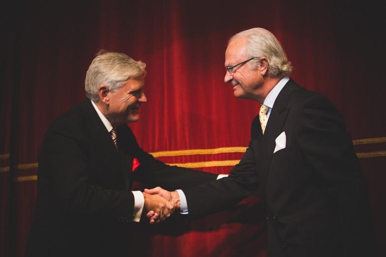 """Stiftelsen för östersjölaxen"""" invigdes av Hans Majestät Konungen foto av Oskar Allerby (3)"""